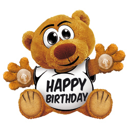 Funny Bear Happy Birthday