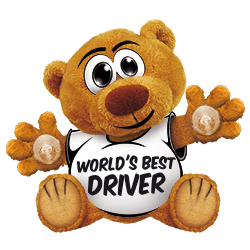 Funny Bear World's best driver