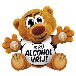Funny Bear Alcohol Vrij!