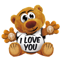 Funny Bear I Love You